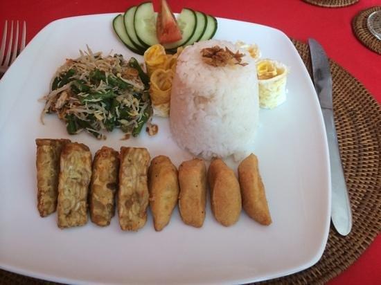 Warung Lu Putu: vegetarisches gericht!