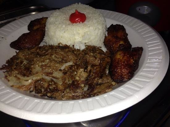 Juice Paradise: vaca frita (fried beef) very good!!!!