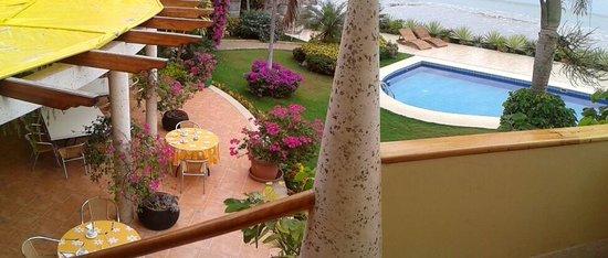 Hotel Boutique Playa Canela Salinas: A la salida de la habitacion
