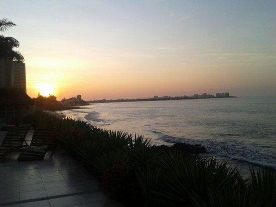 Hotel Boutique Playa Canela Salinas: Puesta de sol