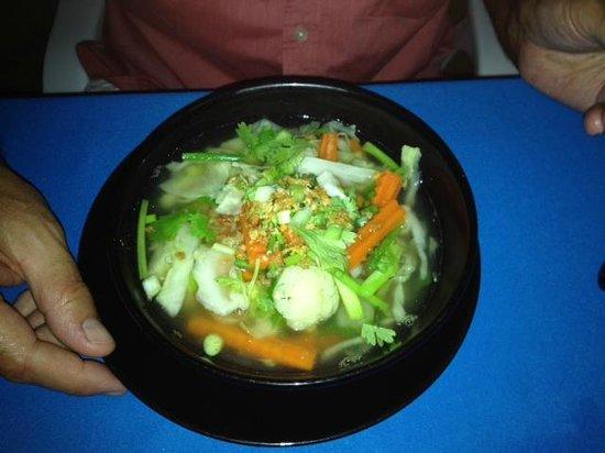 ZENZIBAR Beach Bar & Restaurant: Gemüsesuppe