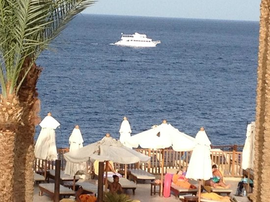 The Grand Hotel Sharm El Sheikh: View from room