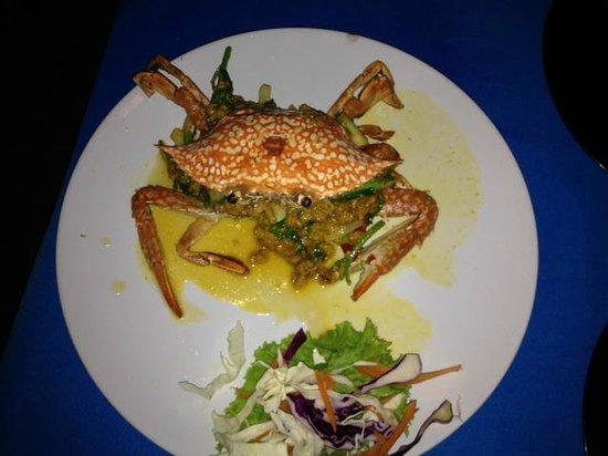 ZENZIBAR Beach Bar & Restaurant: Krabbenfleisch