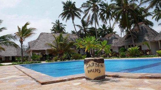 Garden Palms Hotel: Espace Piscine/Hôtel