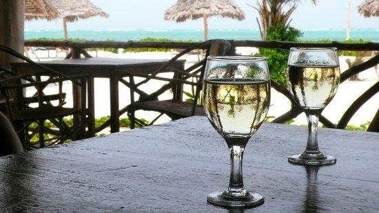 Garden Palms Hotel: Salle à manger avec la belle vue