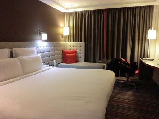 Pullman London St Pancras Hotel: お部屋は広々していました