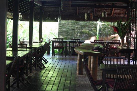 Hotel Alizees Morere: Restaurante do Hotel
