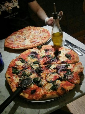 Pizza Express London Camden Menu Prices Restaurant