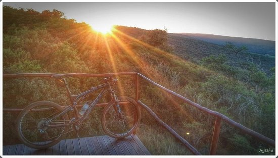 Jbay Zebra Lodge: Mountainbikers dream