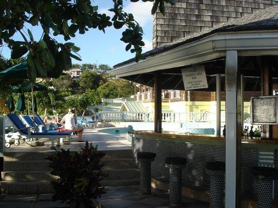 Kalinago Beach Resort: Beach bar