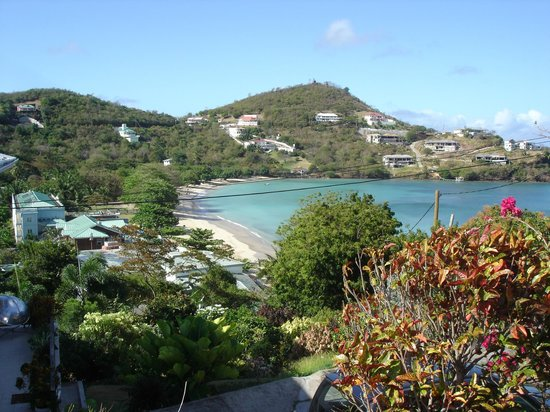 Kalinago Beach Resort: View of Morne Rouge from hill