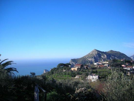 Relais Villa Caprile: Panorama dal terrazzo