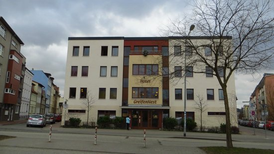 Hotel GreifenNest: Hotel von aussen