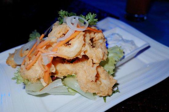 Paon International Restaurant: Squid
