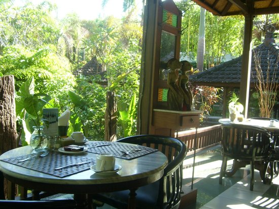 Bali Spirit Hotel and Spa: View from the restaurant