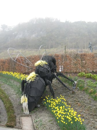 Eden Project: The bees seem larger than normal here...