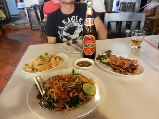 Tom Yum Kung Restaurant, Phnom Penh : Il nostro pranzo