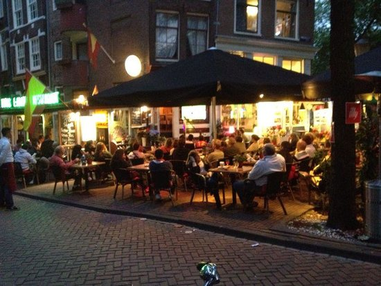 Tapas Restaurant L 'amour : best terrace in Amsterdam
