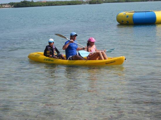 Hotel Sport Baru: Paseando en Kayak