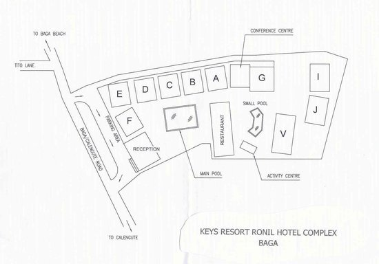 Keys Select Ronil Resort: Layout of Ronil Hotel Complex