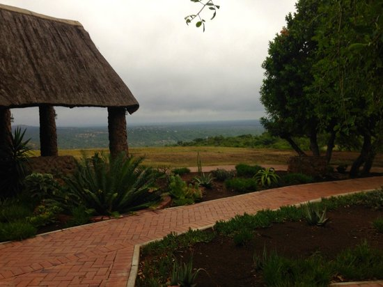 Zulu Nyala Game Lodge: View from the Room
