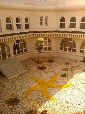 Iberostar Diar El Andalous: Внутренний дворик отеля