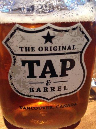 Tap & Barrel - Convention Centre: Fat tug IPA.