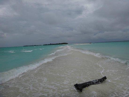 Kuramathi Island Resort : lagune du kuramathi