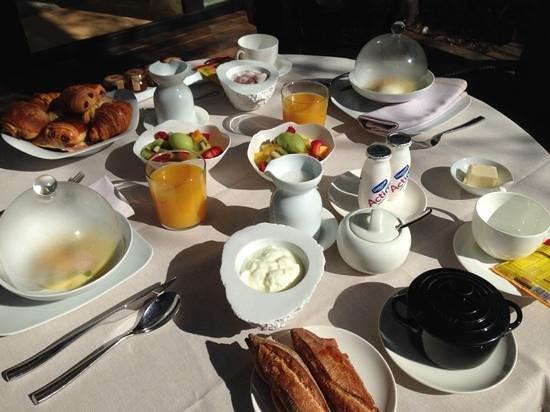 ABaC Barcelona: Desayuno Gourmet en la terraza de la habitación