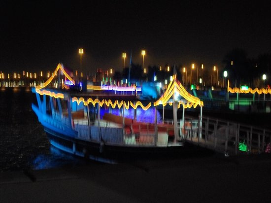 The Corniche : Boat at Corniche