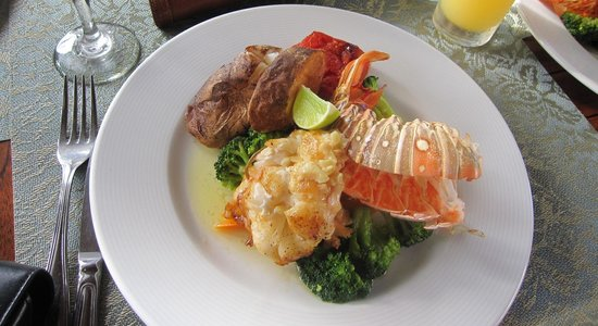 Secrets Wild Orchid Montego Bay : Delectable lobster