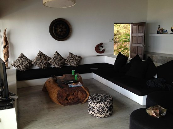 Casas del Sol - Luxury Boutique Villas: Lounge/ TV area
