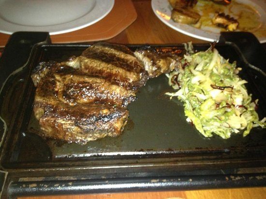 Puerto Madero Cancún: rib-eye for 2