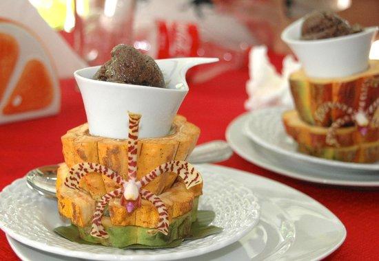 Cafe Mariposa : amazing cocoa dessert