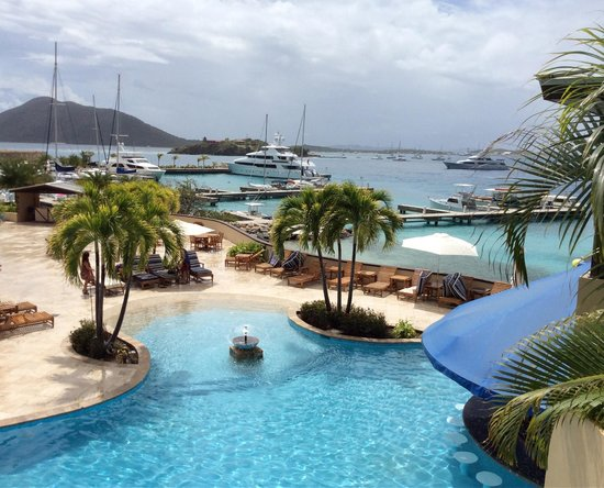 Scrub Island Resort, Spa & Marina, Autograph Collection : another marina pic from our lunch table