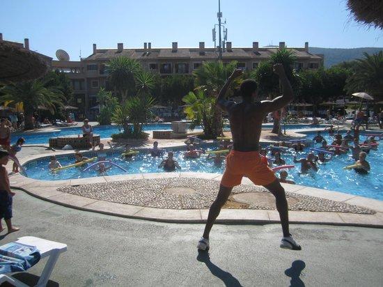 Albir Garden Resort: Aquagym session