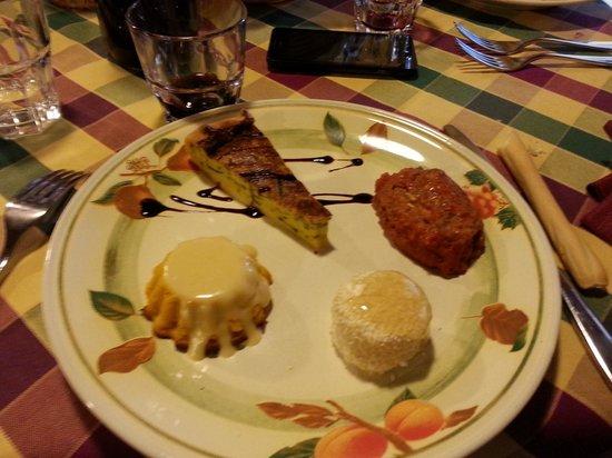 La Taverna Del Torchio: antipasti