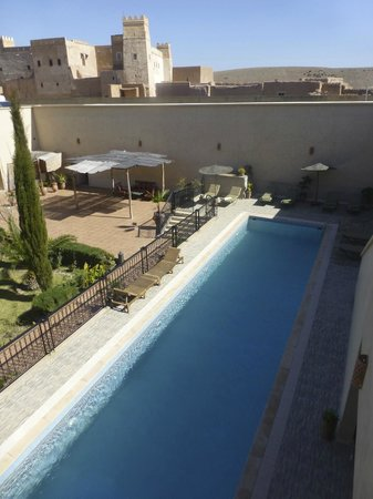 Riad Sougtani : La piscine