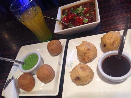 Lily's Vegetarian Indian Restaurant: Fantastic starters #NomNomNom
