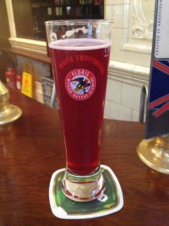 Sheffield tap: Cherry beer mmmmm