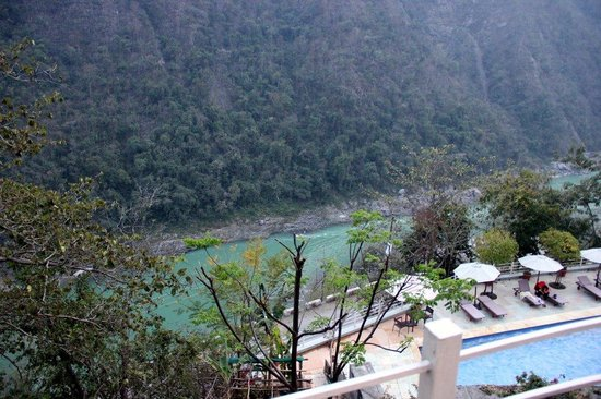 Atali : View of Ganga from the Hotel