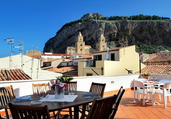 Hotel La Giara : terrazza panoramica