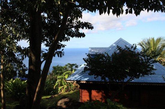 Villa Rose Caraibes : Vue de la chambre Vanille