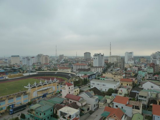 Gold Hotel Hue : View from The Rooftop Bar