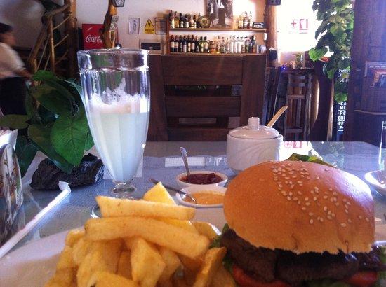 Mamashana Café Restaurante: Riquisimo!