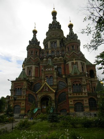 Cathedral of Saints Peter and Paul: Catedral de Pedro y Pablo - Peterhof