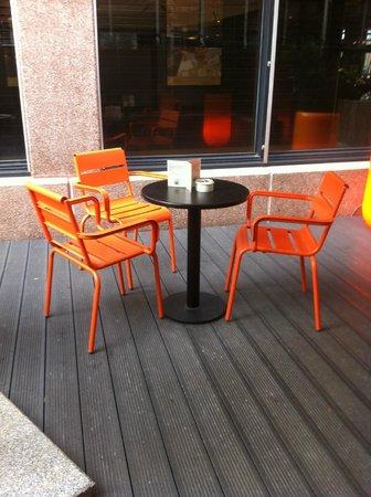 Hotel Golden Tulip Amsterdam West: zona fumatori