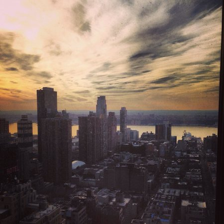 New York Marriott Marquis: View from my room