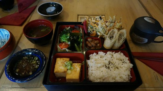 Itadaki Zen: Bento Lunch Set