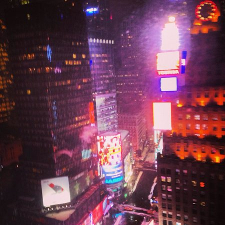 New York Marriott Marquis: Times Square view